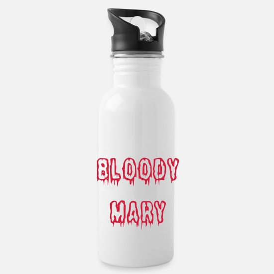 Thriller Mugs et récipients - Bloody Mary bloody font - Gourde blanc