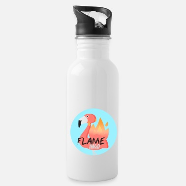 Officialbrands Flame Ingo Flamingo T-Shirt - Trinkflasche