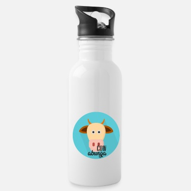 Officialbrands Cowabunga Cow Tshirt - Water Bottle