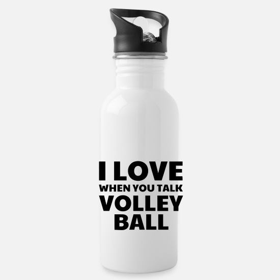 Play Mugs & Drinkware - Volleyball - Volley Ball - Volley-Ball - Sport - Water Bottle white