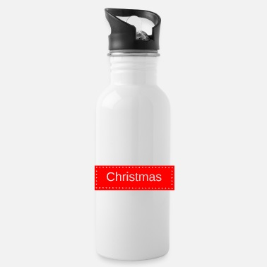 Public Holidays Christmas, for Christmas, holidays - Water Bottle