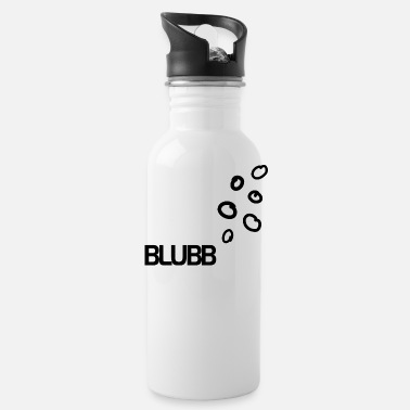 Under Water BLUBB bubbles under water - Water Bottle