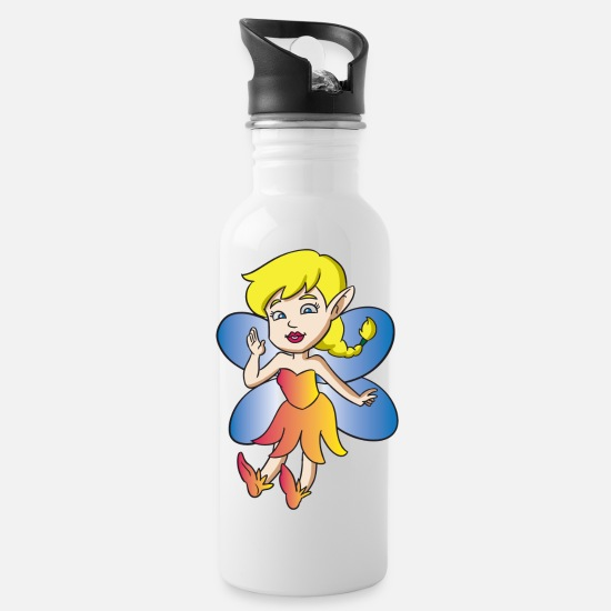 Forest Mugs & Drinkware - Fairy - Water Bottle white