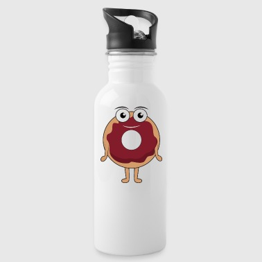Tasty donut - Water Bottle