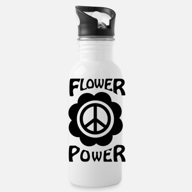 Flower Power flower power - Water Bottle