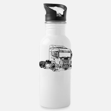 Freighter Scani truck truck camion truck - Water Bottle
