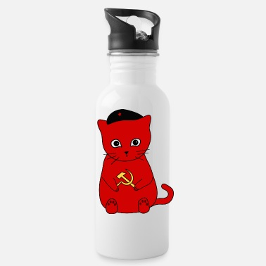 Communisme Kittens voor communisme! - Drinkfles