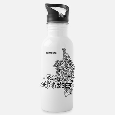 Quarter Augsburg letter quarter - Water Bottle