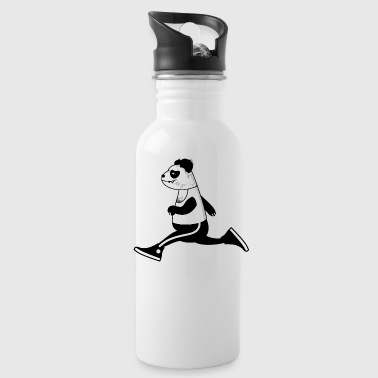 sporty panda - Water Bottle
