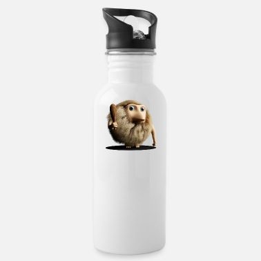 Primitive Man Neanderthal Neanderthal primitive man with club - Water Bottle
