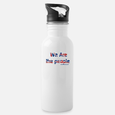 we are the people - Water Bottle