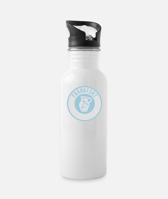 Tipple Mugs & Drinkware - Frankfurt - Bembel - Water Bottle white