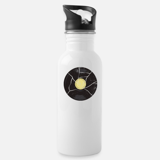 Vinyl Mugs & Drinkware - Vinyl record - Water Bottle white