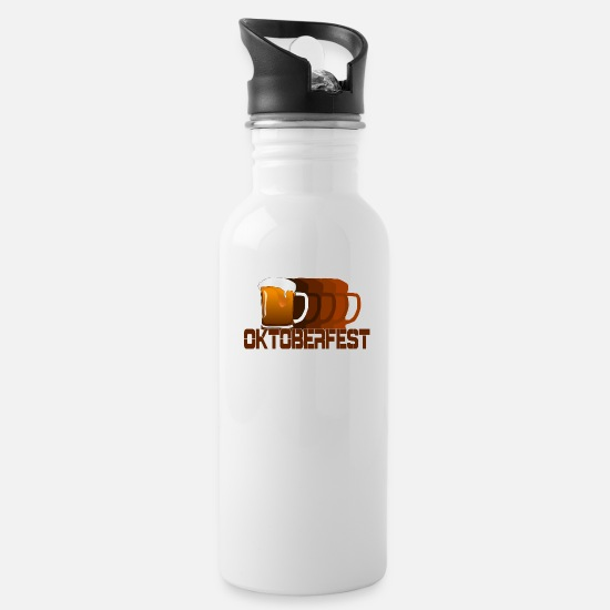 Munich Mugs & Drinkware - Oktoberfest - Water Bottle white