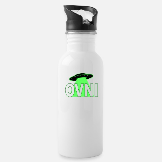 Squirrel Mugs & Drinkware - ovni - Water Bottle white