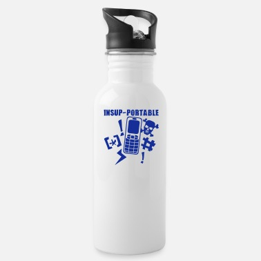Mobile Phone unbearable mobile phone phone - Water Bottle