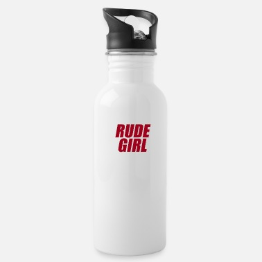 Rude Girl Rude girl red - Water Bottle