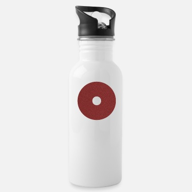 Red circle hole - Water Bottle