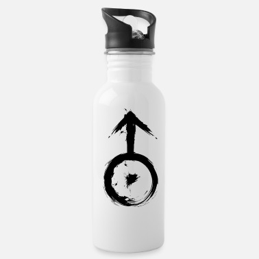 Symbols Astronomical symbol planetary symbol Uranus - Water Bottle