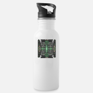 Emerald cross - Water Bottle