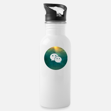 Social Social Media Social Media - Water Bottle