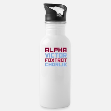 Alpha Alpha - Water Bottle