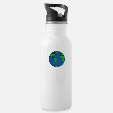 Planet planet Earth - Water Bottle