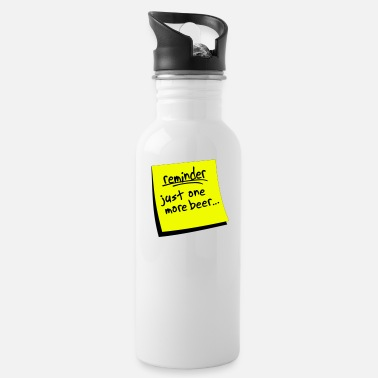 Reminder reminder beer - Water Bottle
