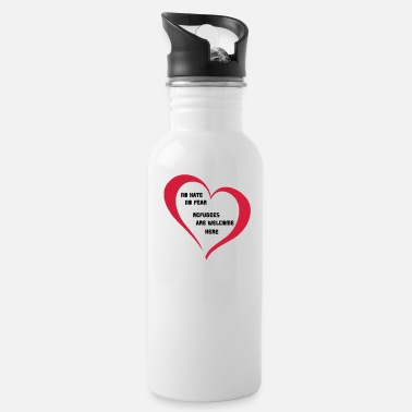 Refugees Welcome Refugees Welcome - Water Bottle