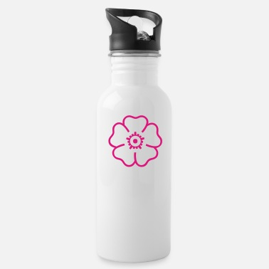 Tropical Flowers Tropical Flower - Water Bottle
