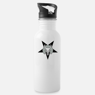 Motivational goat head star - Water Bottle