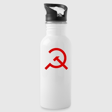 Marxism Simple Hammer and Sickle - Water Bottle