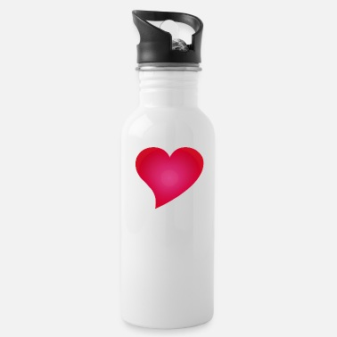 Cuore herz / heart / coeur / cuore / herz - Water Bottle