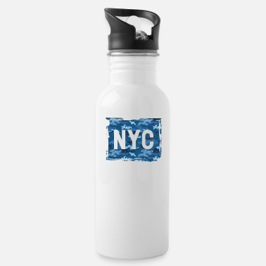 Nyc NYC camouflage - Water Bottle