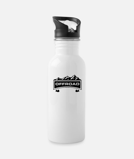 Offroad Vehicles Mugs & Drinkware - Offroad France - Water Bottle white