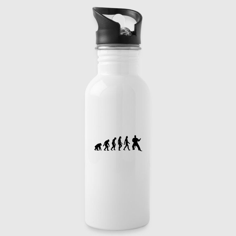 The Evolution of Judo - Water Bottle