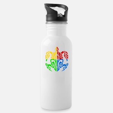 Polynesian Polynesian turtle - Water Bottle
