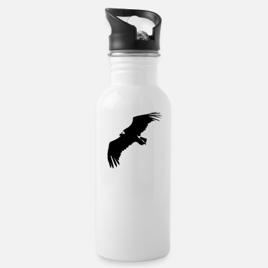 Swine Flu VULTURE IN FLIGHT - Water Bottle