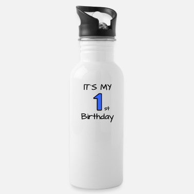My First Birthday It's my first Birthday - my first birthday - Water Bottle