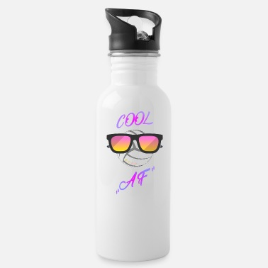cool volleyball - funny - sunglasses - Water Bottle