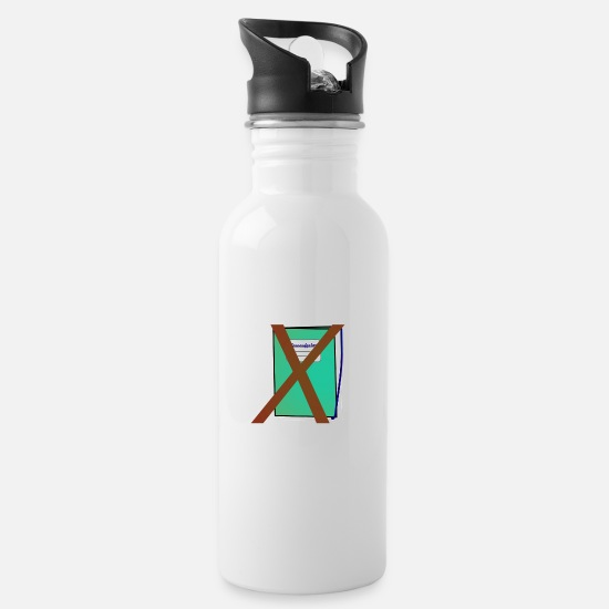 Birthday Mugs & Drinkware - no homework gift - Water Bottle white