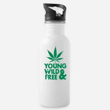 Young Wild And Free young wild and free weed leaf - Drinkfles