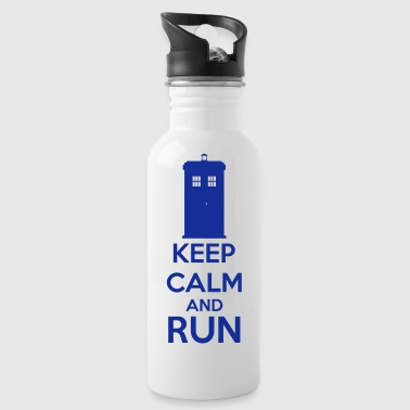 Keep Calm And Run - Drinkfles