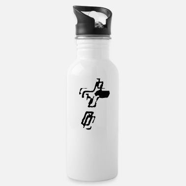 Kreuz Christian Cross 15 + - - Water Bottle