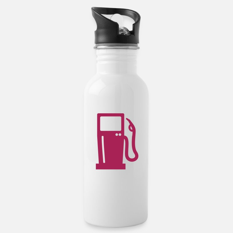 Gas Mugs & Drinkware - Gas station - Water Bottle white