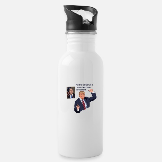 Stupid Mugs & Drinkware - I'm good at what I do - Water Bottle white