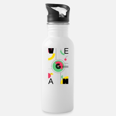 Abstract Vegan - Water Bottle