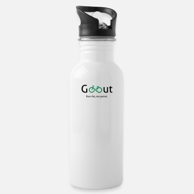 Go Out Go out - go out and ride a bike. - Water Bottle