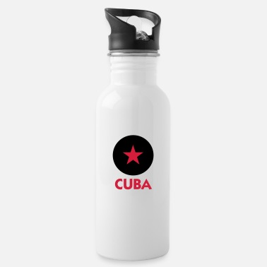 Che Guevara A star for Cuba - Water Bottle