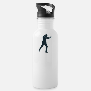 Secret Agent secret agent - Water Bottle